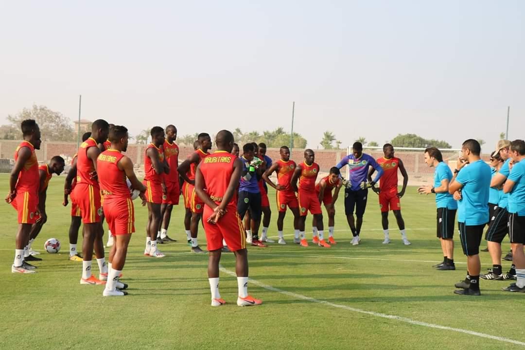 المرابطون في مواجهة أنغولا غدا السبت في ثان مباراة لهم في البطولة