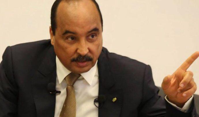 مؤتمر صحفي لقادة UPR الداعمين لولد عبد العزيز