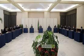 مجلس الوزراء في اجتماعه الأسبوعي