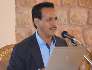 الدكتور أحمد مولود يحاضر عن الآثار الموريتانية