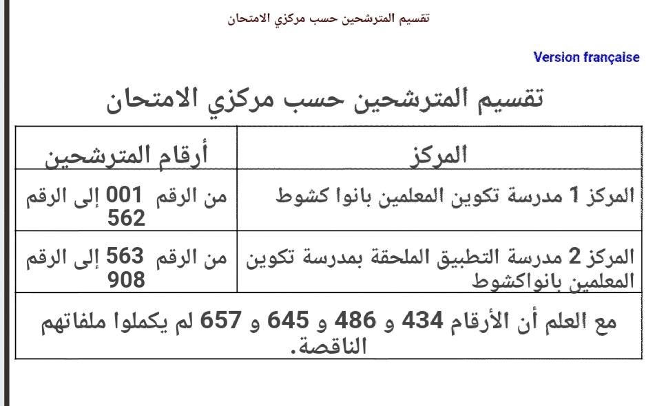 لجنة المسابقات تحدد مراكز إجراء مسابقة القضاء