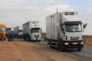 موعد انطلاق القافلة التجارية بين الجزائر وموريتانيا